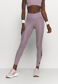 Nike Performance - RUN - Leggings - purple smoke/silver - 0