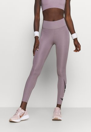 RUN  - Legginsy - purple smoke/silver