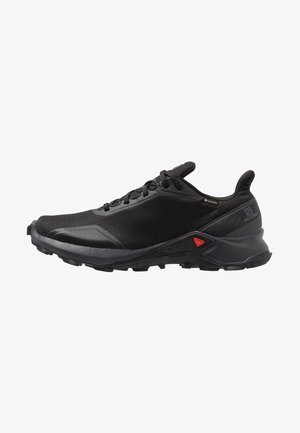 ALPHACROSS GTX - Trail running shoes - black/ebony