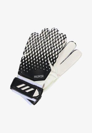 TORWARTHANDSCHUHE - Goalkeeping gloves - black / white