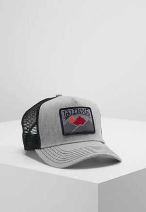 TREK A PATCH - Cap - grey/black