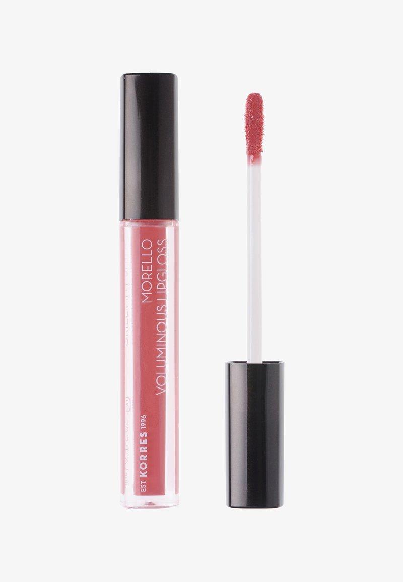 Korres - MORELLO LIPGLOSS - Lip gloss - pink 16
