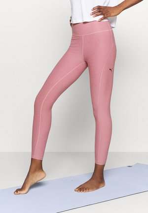 STUDIO LUXE ECLIPSE - Leggings - foxglove heather