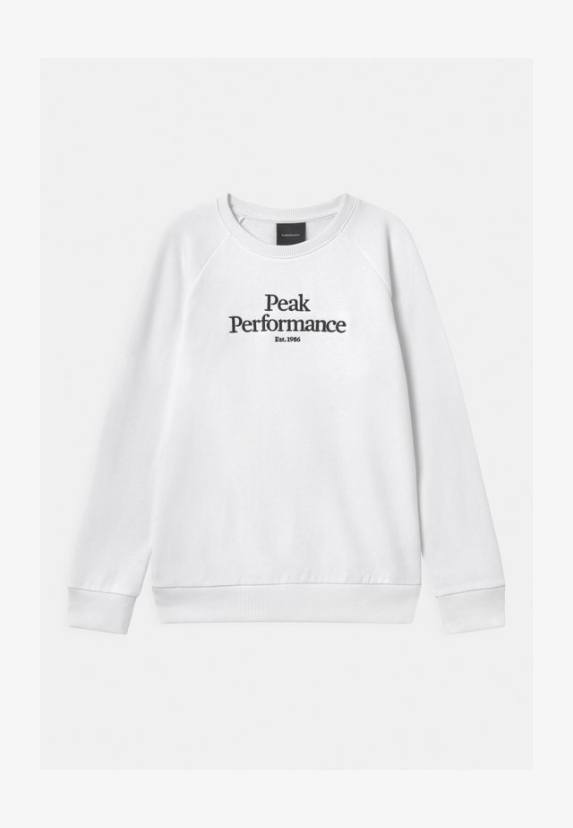 ORIGINAL CREW UNISEX - Sweatshirt - white