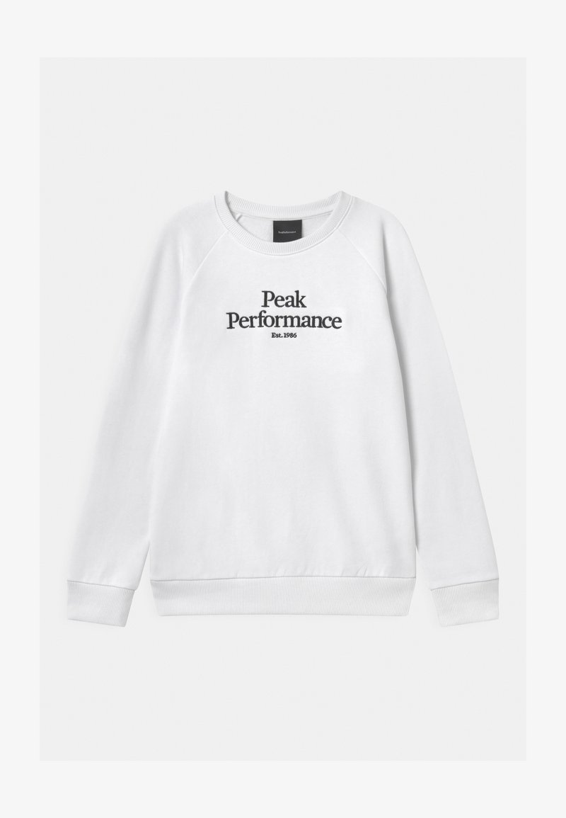 Peak Performance - ORIGINAL CREW UNISEX - Mikina - white