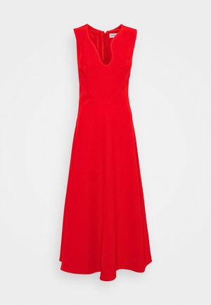 KEYHOLE FIT AND FLARE - Cocktail dress / Party dress - bright red