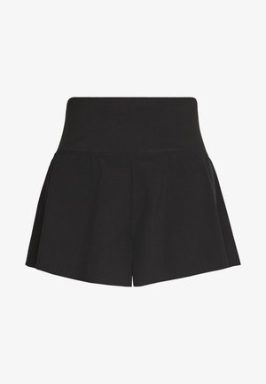 HIGHWAIST RUNNING SHORT - Sports shorts - black