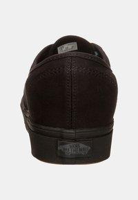 Vans - AUTHENTIC COMFYCUSH - Skate shoes - schwarz - 3