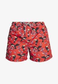Jack & Jones - JJIARUBA JJSWIMSHORTS  - Swimming shorts - hot coral - 3