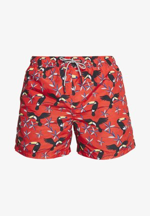 JJIARUBA JJSWIMSHORTS  - Swimming shorts - hot coral