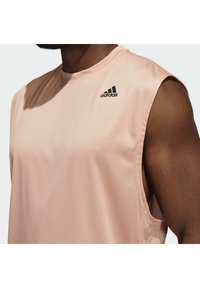 adidas Performance - YOGA MUSCLE TEE - Top - ambient blush - 4