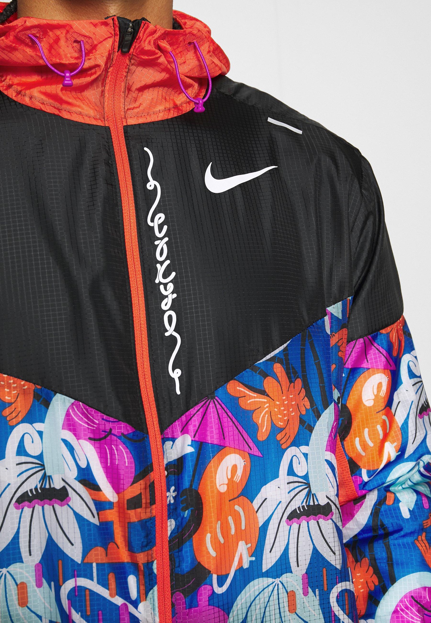 Alhaisen Hinnan Myynti Miesten vaatteet Sarja dfKJIUp97454sfGHYHD Nike Performance WINDRUNNER Juoksutakki black/team orange