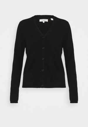 THE CARDI - Chaqueta de punto - black