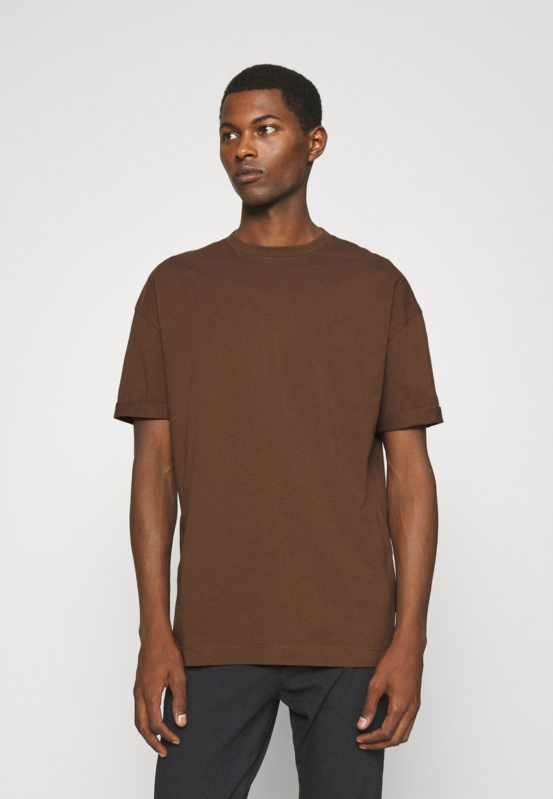 DRYKORN - THILO - Basic T-shirt - braun