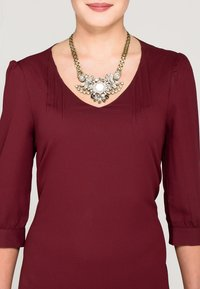 sweet deluxe - Necklace - altgoldfarben - 0