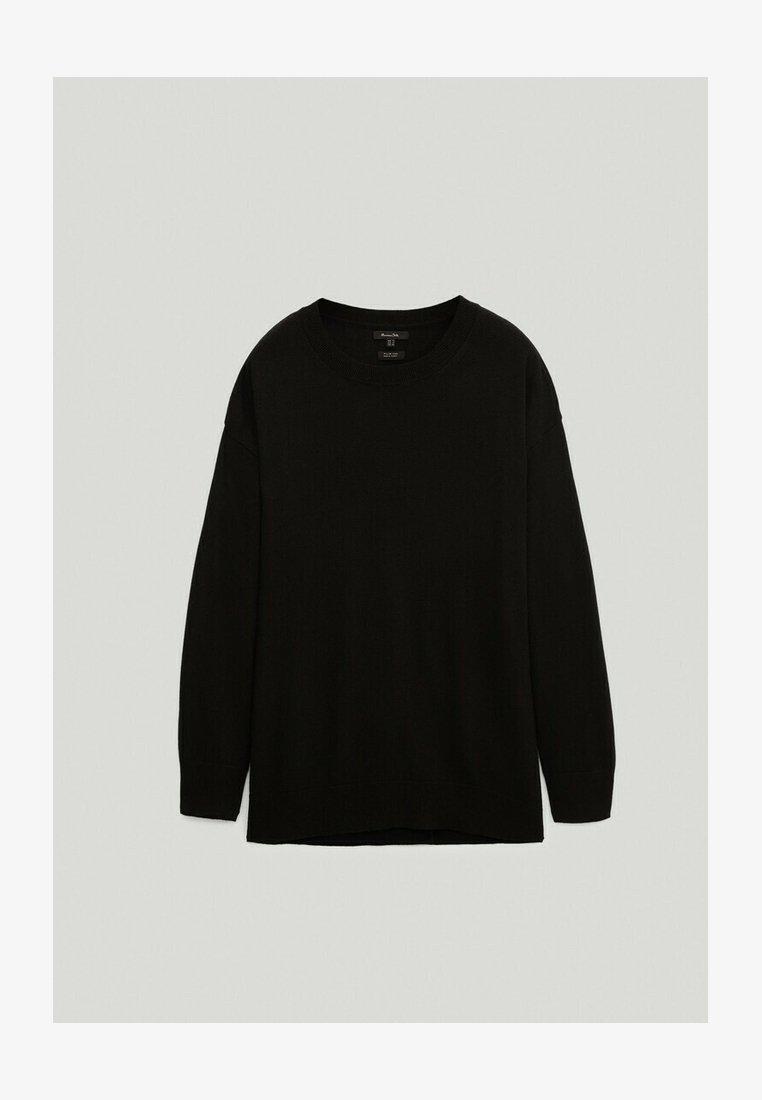 Massimo Dutti - BOYFRIEND - Sweatshirt - black