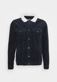 Denim Project - TEDDY JACKET - Tunn jacka - navy - 4