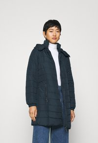Armani Exchange - CABAN COAT - Classic coat - navy - 0