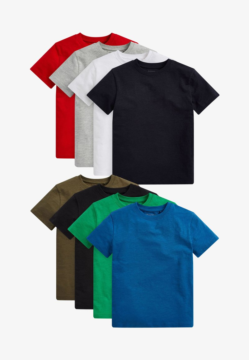 Next - 8 PACK  - T-shirt print - multi-coloured