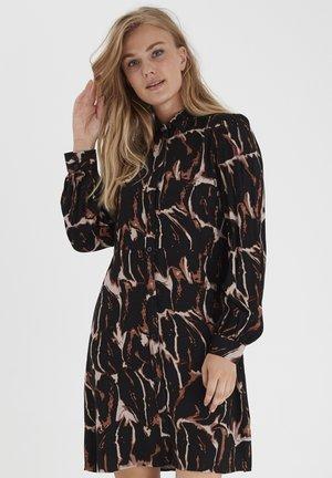 BYJOLIE  - Shirt dress - black mix