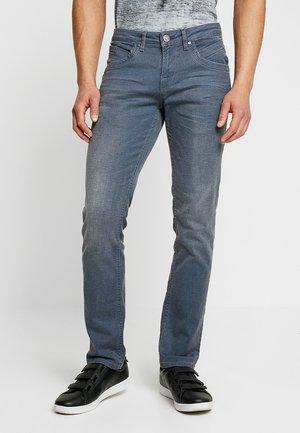 HENLOW - Straight leg jeans - grey/blue