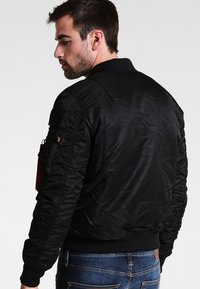 Alpha Industries - NASA - Bomber Jacket - all black - 2