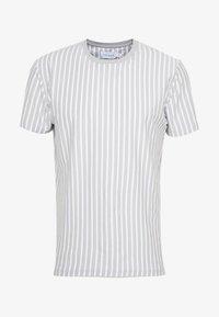 NEW VERT HARRY STRIPE - Print T-shirt - grey
