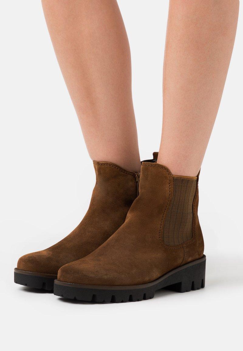 Gabor Comfort - Classic ankle boots - cognac