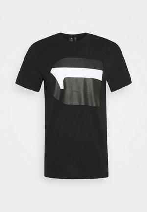 T-shirt z nadrukiem - dark black
