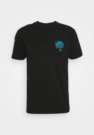 DRESSEN PUP DOT UNISEX - Print T-shirt - black