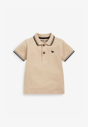 Polo shirt - tan
