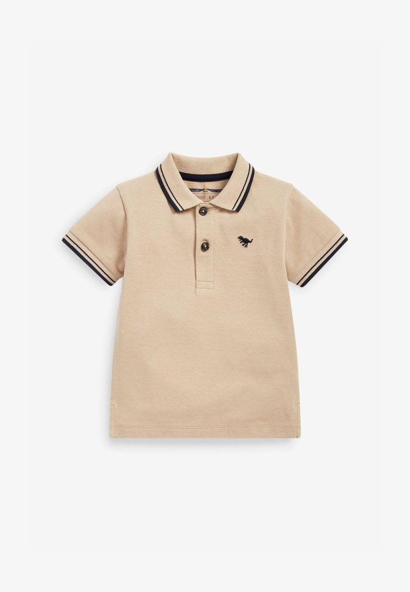 Next - Polo shirt - tan