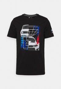 BMW CAR GRAPHIC TEE - Print T-shirt - black