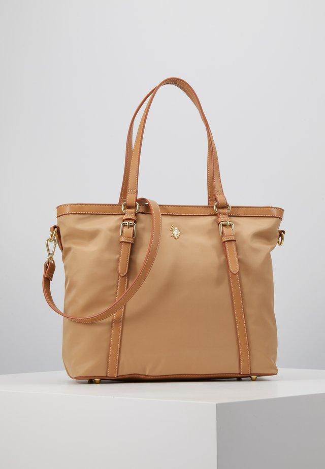 HOUSTON - Handbag - beige