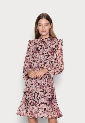 ONLSKYE SMOCK DRESS - Day dress - rose browntonal