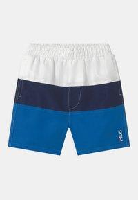 Fila - NICOLO  - Swimming shorts - skydiver/black iris/bright white - 0