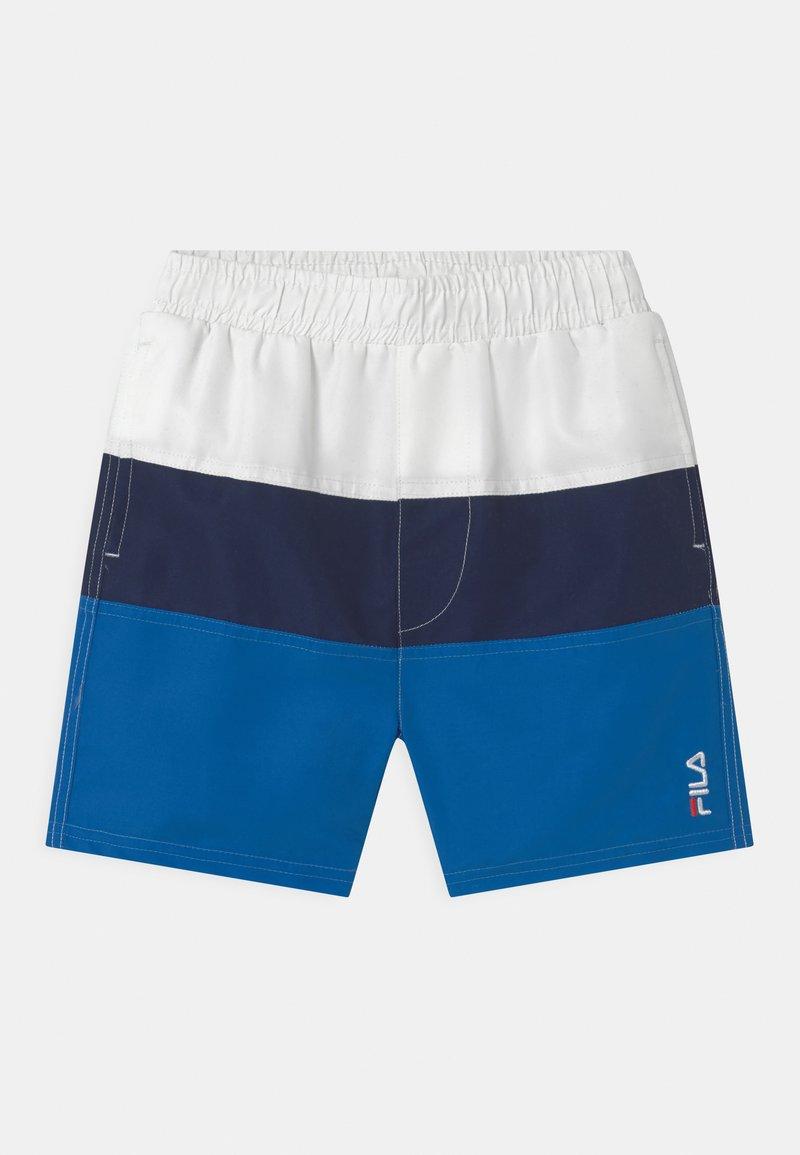 Fila - NICOLO  - Swimming shorts - skydiver/black iris/bright white