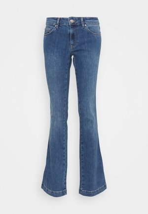 ZED - Bootcut jeans - blue