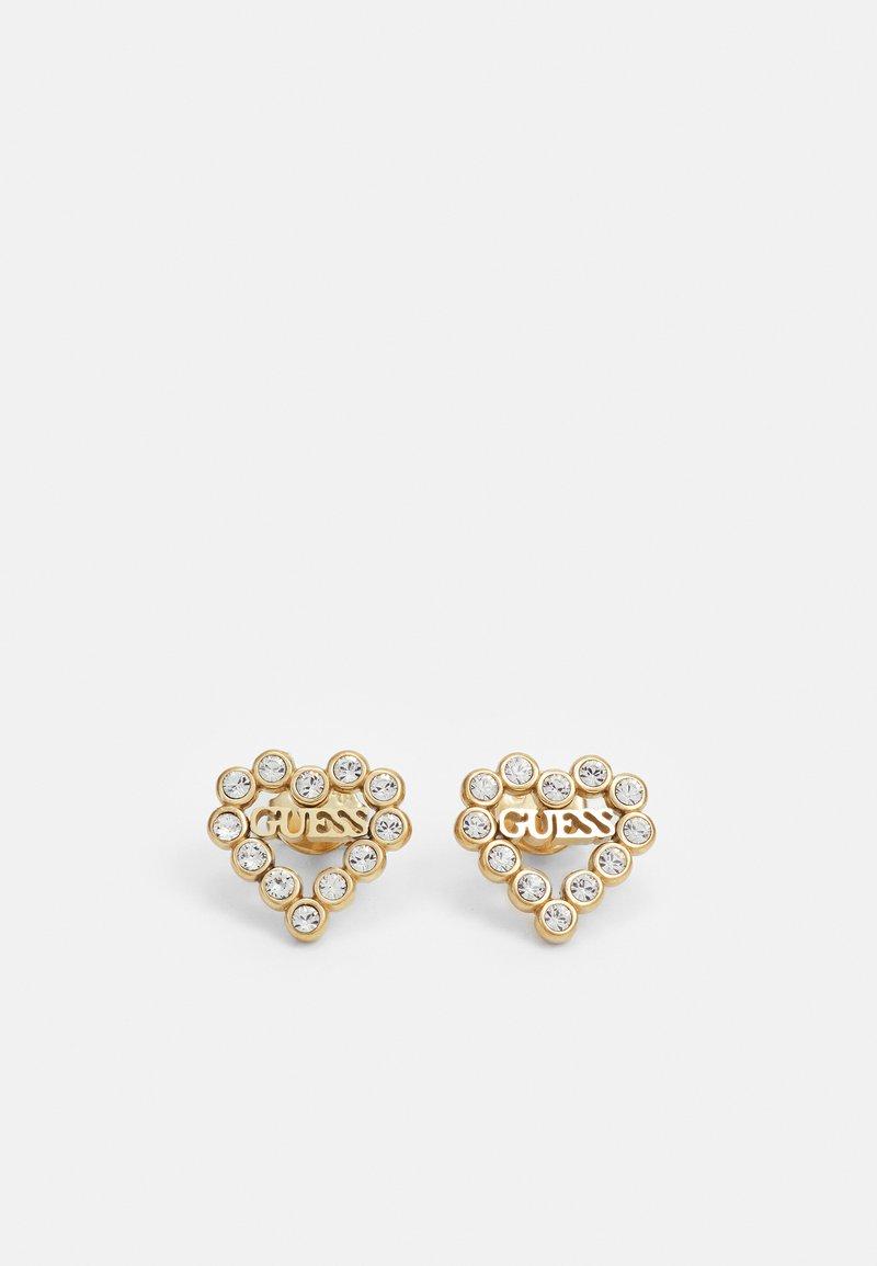 Guess - HEART ROMANCE - Earrings - gold-coloured