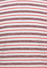 TOM TAILOR - STRIPED - T-shirt con stampa - powerful red - 6