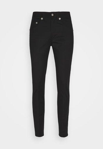 SUPER REGULAR RISE  - Skinny džíny - black
