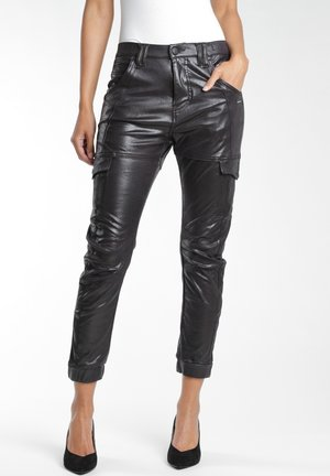 GISELLE - Trousers - black