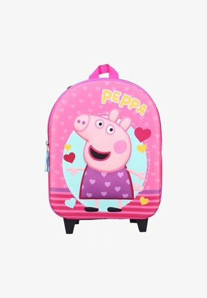 KINDER-TROLLEY - School bag - rosa