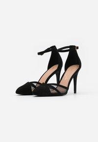 New Look - STRIPE  - Høye hæler - black - 2