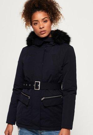 Płaszcz zimowy - navy blue
