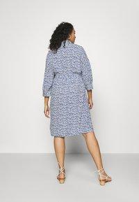 MY TRUE ME TOM TAILOR - SHIRT DRESS WITH BELT - Shirt dress - blue aquarelle - 2