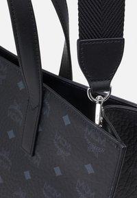 MCM - TOTE MED UNISEX - Tote bag - black - 5