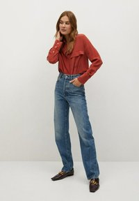 Mango - COMO - Button-down blouse - rood - 1