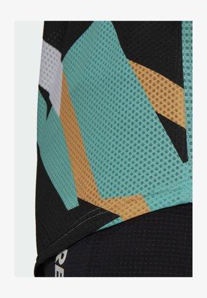 TERREX PARLEY AGRAVIC TRAIL RUNNING PRO T-SHIRT - T-shirt z nadrukiem - teal
