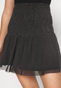 Even&Odd - Mini skirt - white/black - 4